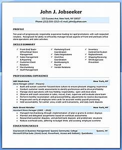 retail manager resume is made for those professional With pro resume