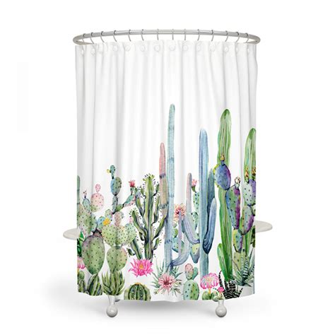 Cactus Shower Curtain - aliexpress buy africa ttropical plant 180 180