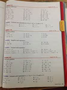 7th Grade Math Textbook Pages