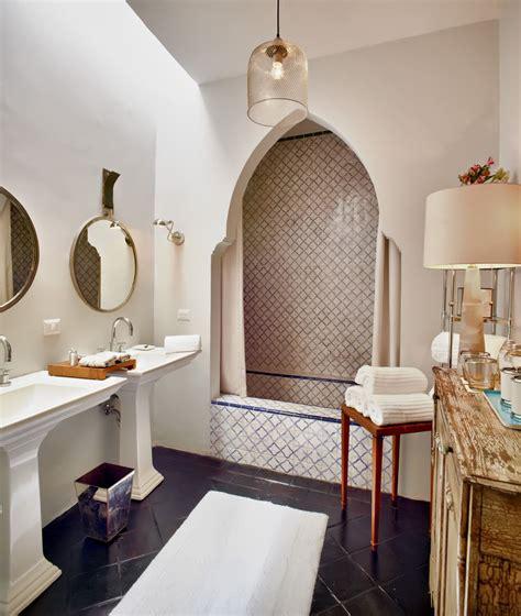 Modern Moroccan Bathroom Design by Moroccan Inspired Home Inspiration Moroccan Bathroom