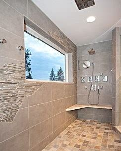 Modern Rustic Bathroom Tile by Rustic But Modern Tile Walk In Shower Contemporary