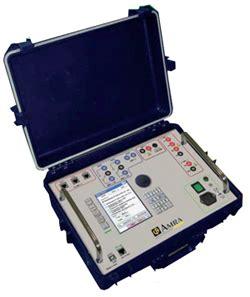 cassetta prova rele chauvin arnoux cassetta prova rel 232 ftv400 test energia