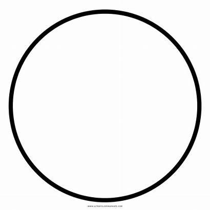 Circulo Colorear Cerchio Colorare Dibujo Coloring Scarica
