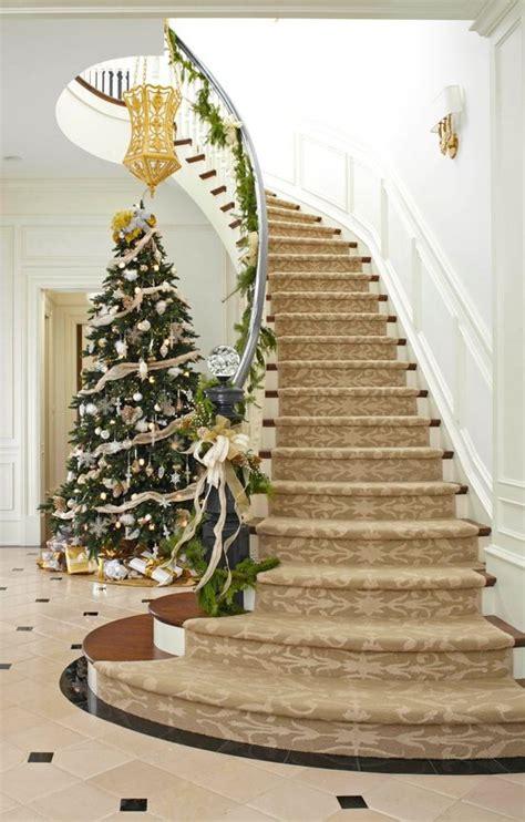 christmas staircase decoration ideas wow decor