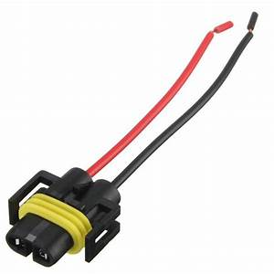 2019 New H8 H11 Female Adapter Wiring Harness Socket Car
