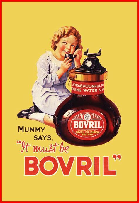 affiche vintage cuisine bovril vintage food drink poster retro advert