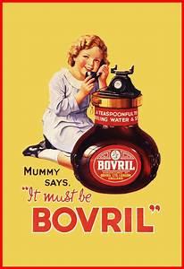 Bovril   Vintage food & drink poster   Retro advert # ...