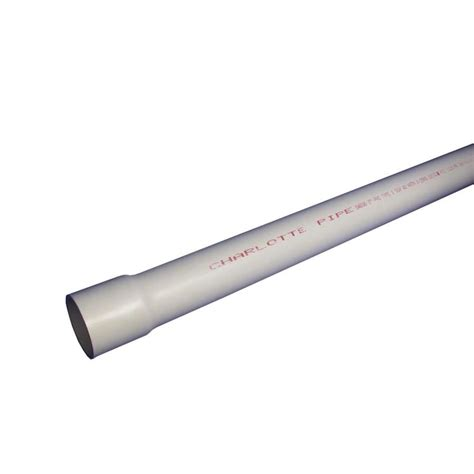 charlotte pipe     ft  psi schedule  pvc pipe