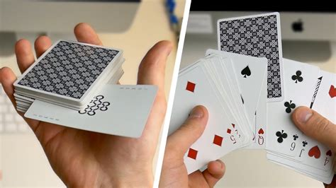 Place one card in the first column, then place one card into the second column, and one card into the third column. BEGINNER MAGIC - Card Trick Tutorial - YouTube