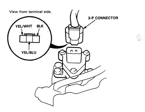 Honda Acura Engine Wiring Sensor Connector Guide