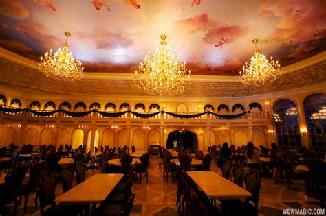 Inside Be Our Guest Restaurant Dining Rooms  Photo 17 Of 19