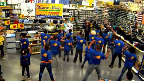 flashmob bureau vallée st ker musik