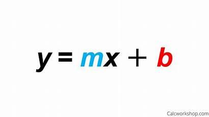 Slope Intercept Form Equation Formula Equations Linear
