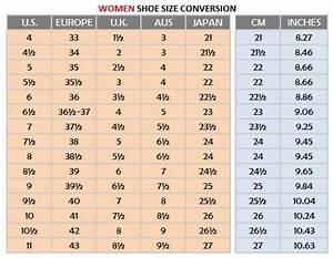 Mens Vs Womens Shoe Size Chart Women 39 S Shoe Size Conversion Chart Google Search