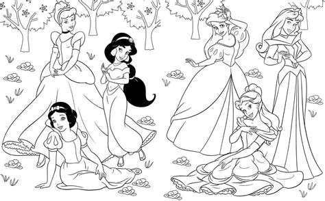 Disney Princess Free Printable Coloring Pages Coloring Home