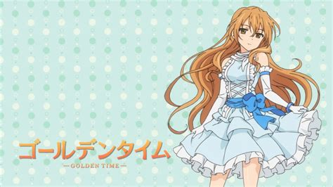 Looking For Animes Like Golden Time Golden Time Wallpapers Anime Hq Golden Time Pictures