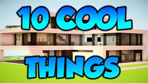 cool   add   minecraft house youtube