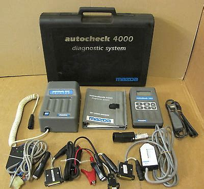 Diagnostic System by Mazda Autocheck 4000 Diagnostic System Vehicle Ecu Fault