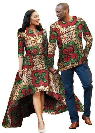Men and Women African Traditional Clothes Fashion Dress and Shirt Various Colors price from ...
