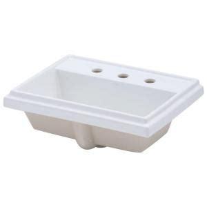 kohler tresham vitreous china drop in bathroom sink in