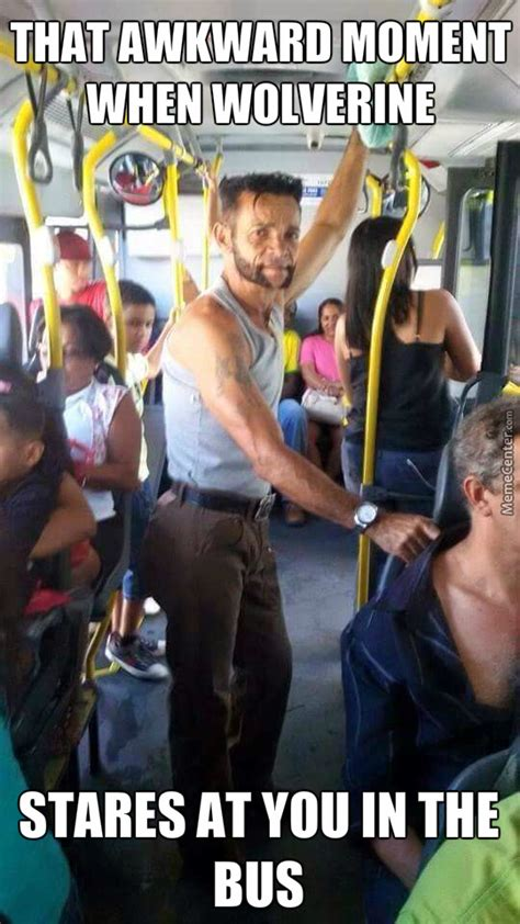Wolverine Meme - wolverine takes the bus by anthonystark meme center