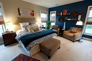 Blue, And, Turquoise, Accents, In, Bedroom, Designs, U2013, 39, Stylish, Ideas
