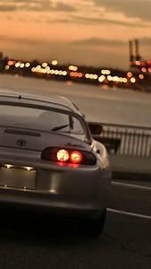 Japan Tokyo Cityscapes City Lights Toyota Supra Mkiv