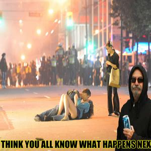 Vancouver Riot Kiss Meme - no matter how strong you think you are your mother will always love you by m h m meme center