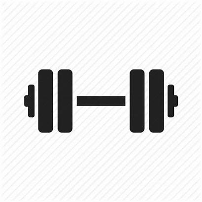 Dumbbell Icon Barbell Weight Strength Fitness Exercise