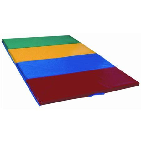 gymnastics mats walmart early childhood resources elr 028 4x6 tumbling mat