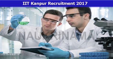 Iit Kanpur Job Openings For Project Scientist And