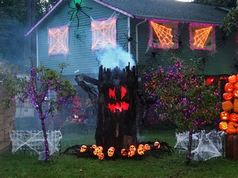 scary outdoor halloween decorating ideas youtube themes