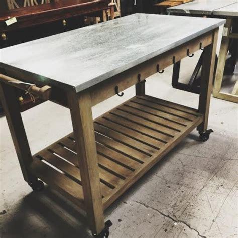 kitchen island table on wheels kitchen table on wheels nadeau dallas