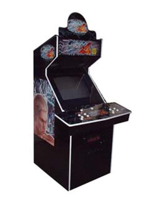 tekken 3 arcade cabinet tekken 4 videogame by namco