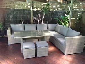 Lounge Sofa Outdoor : outdoor furniture evolution dining out in comfort ~ Frokenaadalensverden.com Haus und Dekorationen