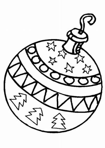 Ornament Coloring Ornaments Easy Printable Sheets Tulamama