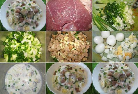 Aukstā zupa ar gaļu, olām un kefīru - Laiki mainās!