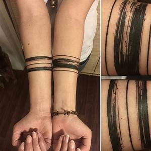 Tattoo Streifen Arm : 95 significant armband tattoos meanings and designs 2019 ~ Frokenaadalensverden.com Haus und Dekorationen
