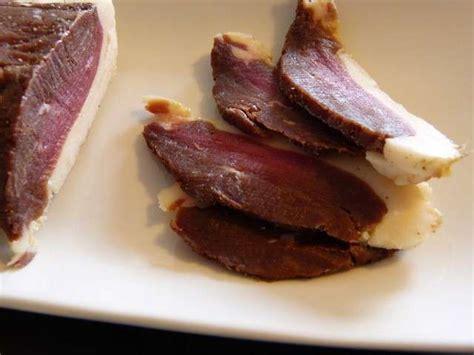 cuisine magret de canard recettes de magret de canard séché de mamzelle cuisine