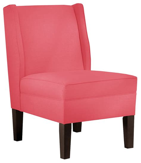 porter accent chair coral contemporary armchairs
