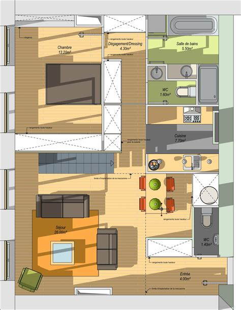 plan cuisine ouverte 9m2 plan cuisine ouverte 9m2 idées de design suezl com