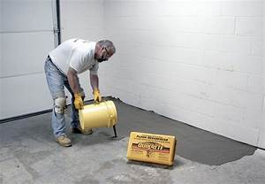 How to decide whether to repair or replace your concrete for Cement floor repair in garage