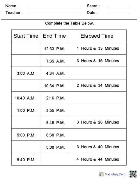 time worksheets time worksheets  learning   time