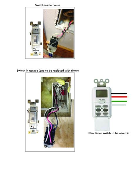 woods digital timer switch wiring electrical diy