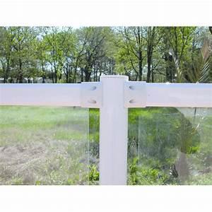 Cloture De Jardin : barri re translucide ou opaque pour cl ture de jardin ou ~ Premium-room.com Idées de Décoration