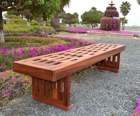 lighthouse garden bench