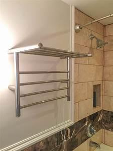 Luxury, Heated, Towel, Racks, Set, To, Warm, Things, Up, In, Hotel, Bathrooms