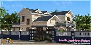 Modern contemporary residence design keralahousedesigns
