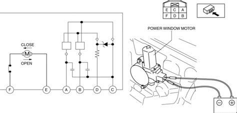 Mazda Service Repair Manual Power Window Motor