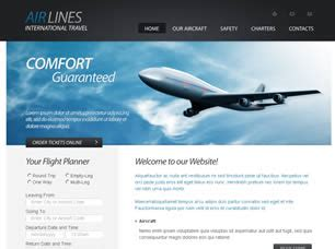 free transport website templates 21 free css